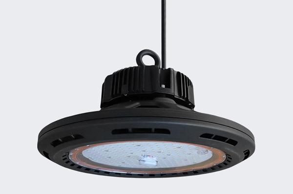 Campânula OLLED UFO HighBay 160w 120º 23000lm IP65