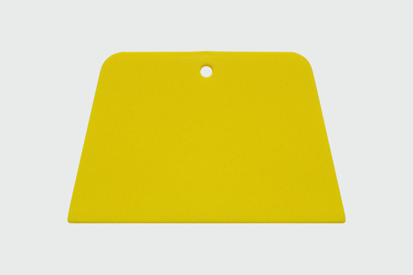 Fine Yellow Squeegee - Flexible